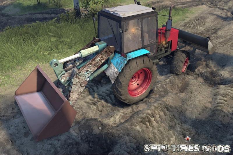 скачать моды на Spin Tires на трактора - фото 11