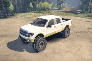 Мод на пикап Ford F 150 для Spin Tires 2015