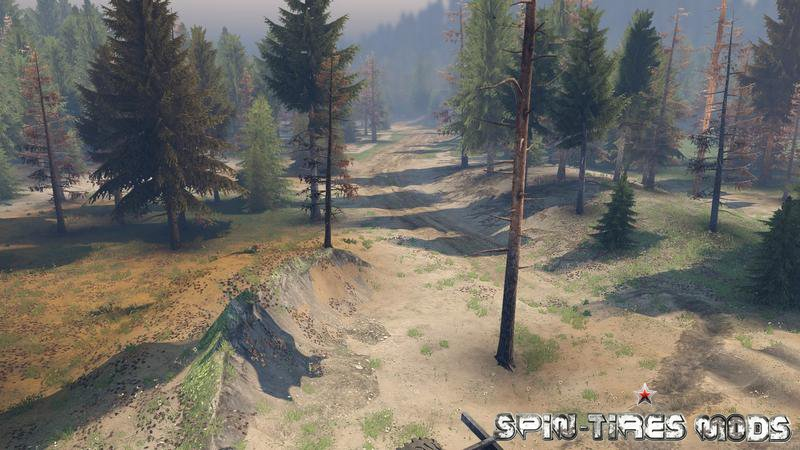 Мод на карту NuB для Spin Tires 2015 (SpinTires, Спин Тирес)