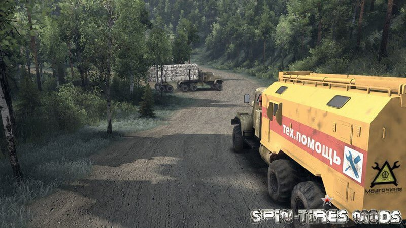 Карта Level 13 для Spin Tires 2015 (13.04.15 + 25.12.15) (map level_13 для Спин Тирес)