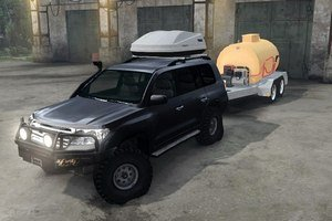 Внедорожник Toyota Land Cruiser 200 для Spin Tires 2016 (03.03.16)