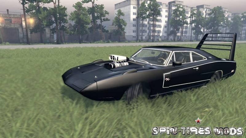 Скачать мод на spin tires 030316 на машины - 7891